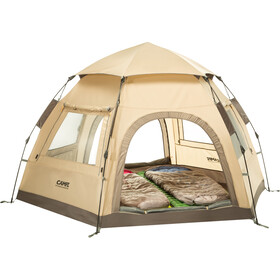 CAMPZ Hexa OT 3P Tent beige/grey